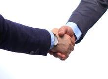 помогать руки руки бизнесмена трястия 2 Стоковое Изображение RF