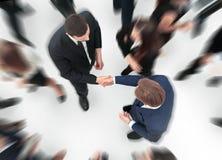 помогать руки Рукопожатие дела и бизнесмены conce Стоковые Изображения