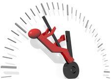 помогающе экономить время иллюстрация вектора