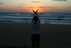 помогая солнце Стоковая Фотография
