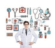 помогите медицинской Стоковое Изображение RF