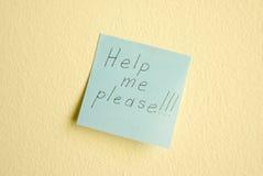 Помогите мне пожалуйста Стоковая Фотография RF
