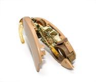 помогите сетноому-аналогов поврежденному слуху Стоковое Фото