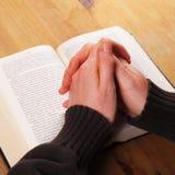 помолите Стоковая Фотография