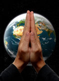 помолите Стоковое Изображение