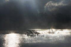 Помох озера, провинция Дьен Бьен Фу стоковое изображение