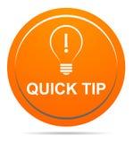 Помощь кнопки быстрой подсказки оранжевые и концепция предложения бесплатная иллюстрация