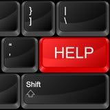 Помощь кнопки компьютера бесплатная иллюстрация