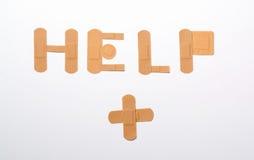 Помощь повязк Стоковое Фото