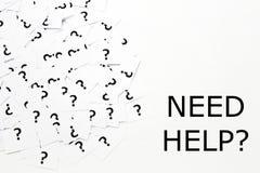 Помощь потребности Стоковые Изображения