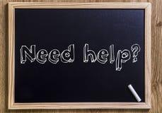 Помощь потребности? Стоковые Изображения