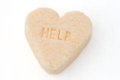 помощь сердца конфеты Стоковые Фотографии RF