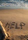 Помощь сообщения Стоковое Изображение