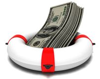 помощь финансовохозяйственная Стоковое Изображение