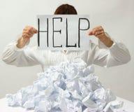 Помощь Стоковая Фотография