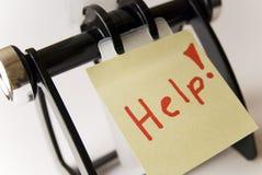 Помощь стоковые фотографии rf