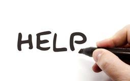 помощь erase доски сухая стоковое изображение