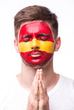 Помолите Испании стоковые фото