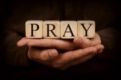 Помолите Стоковое фото RF