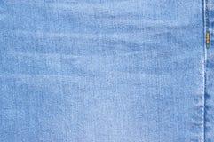 Помытая текстура джинсовой ткани как предпосылка Стоковые Изображения