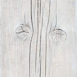 Помытые белизной планки лесов с узлами Стоковые Фотографии RF