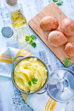 помятая картошка Стоковая Фотография RF
