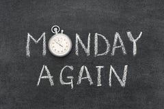 Понедельник снова стоковые фото