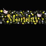 Понедельник Стоковое фото RF