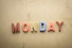 Понедельник Стоковое Изображение