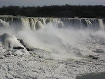 понижается зима niagara Стоковые Фотографии RF