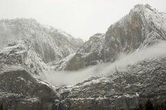 понижается зима yosemite Стоковая Фотография RF