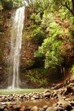 понижается секрет Гавайских островов kauai Стоковое Фото