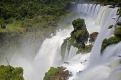 понижается iguassu Стоковая Фотография RF