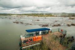 понижается iguazu стоковая фотография rf