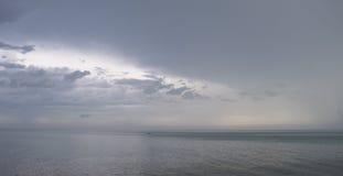 Понижающ небо позже Стоковые Изображения RF