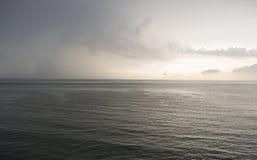 Понижающ небо позже Стоковая Фотография RF