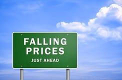 понижаясь цены бесплатная иллюстрация