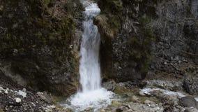 Понизьте водопад в hlklamm ¼ Schleifmà акции видеоматериалы