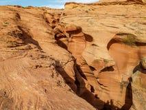 Понизьте каньон антилопы в странице, Аризоне стоковая фотография