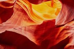 Понизьте каньон антилопы около страницы, Аризоны, США Стоковая Фотография RF