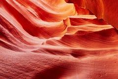 Понизьте каньон антилопы около страницы, Аризоны, США Стоковые Изображения RF
