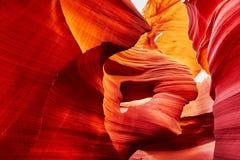 Понизьте каньон антилопы, Аризону, США Стоковые Изображения RF