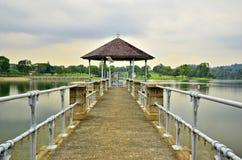 Понизьте резервуар Peirce, Сингапур Стоковое Изображение