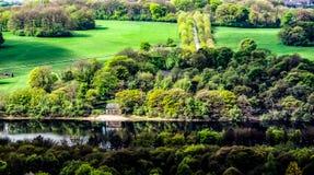 Понизьте резервуар Rivington, Bolton стоковая фотография