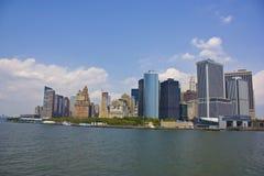 понизьте manhattan New York Стоковое Фото