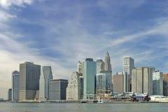 понизьте manhattan New York стоковые изображения