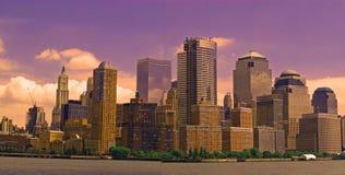понизьте manhattan New York стоковое фото rf