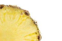 Поперечное сечение ананаса Стоковые Фото