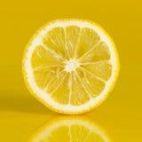 Поперечное сечение лимона Стоковая Фотография RF