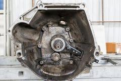 Поперечное сечение коробки передач автомобиля Стоковое Изображение